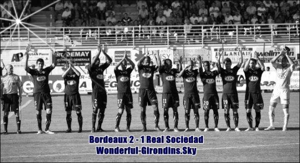 Girondins de Bordeaux - Real Sociedad.
