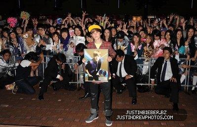 Un peu de Justin Bieber pour les fans ;)