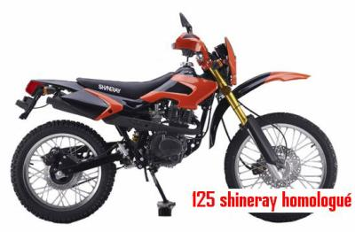 dirt bike 125 cc shineray homologu route bienvenue. Black Bedroom Furniture Sets. Home Design Ideas