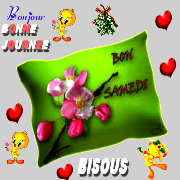 BON SAMEDI