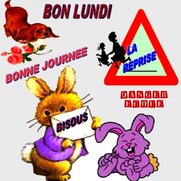 BON LUNDI BONNE SEMAINE