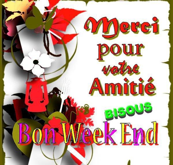 bonne semaine à tous