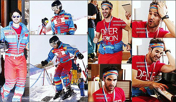 * 11/03/17 : Darren a participé à l'opération « Smile's Celebrity Ski & Smile Challenge » - à Park City à Utah. Darren C. était accompagnée de sa petite amie  Mia Swier. Darren était très beau. Il avait l'air de bien s'amuser en faisant du ski. Top pour sa tenue  *