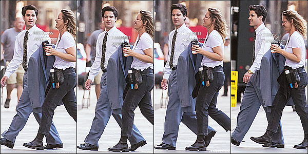 * 21/04/17 : Darren a été repérée, alors qu'il était sur le tournage de la saison 3 de « American Crime Story ». C'est dommage qu'il n'y ait pas tellement de photos. En tout cas Darren est très beau. J'aime beaucoup la tenue qu'il porte. C'est un Top pour moi !  *