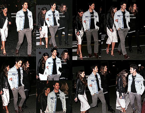 * 25/05/17 : Darren C. a été aperçu  lorsqu'il quittait le bar « Beauty & Essex » - qui se trouve dans Los Angeles. Darren était accompagnée de sa petite amie et de Lea Michele. Darren est très beau. J''aime beaucoup la tenue qu'il porte - C'est un Top pour moi !  *