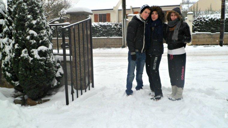 La neige.♥