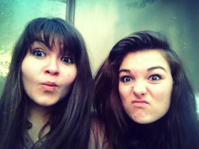 Anaïs et Héléna. ♥
