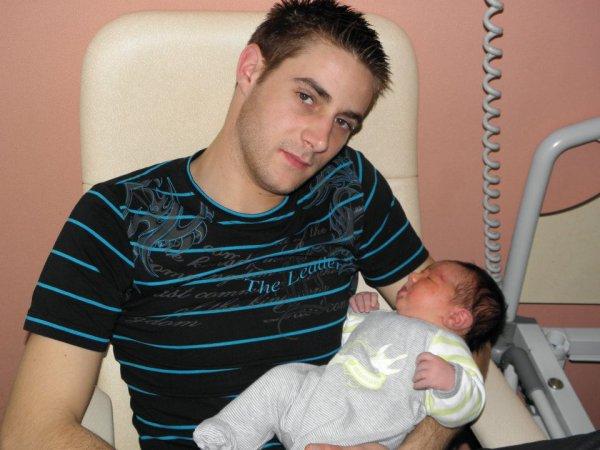 *mon fils Nicolas et son petit Kyle