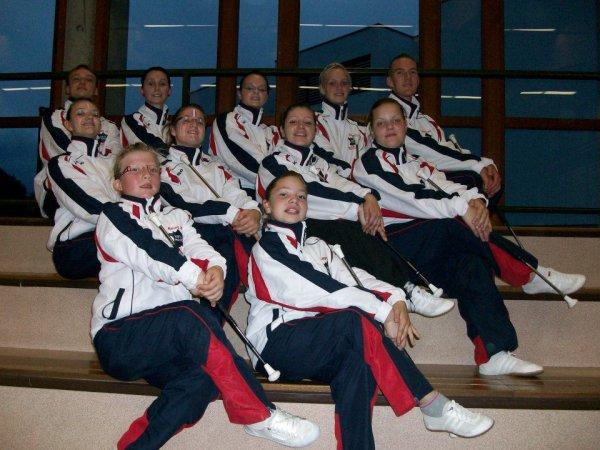 Championnat d'europe Majorettes NBTA 2012 à Sélestat