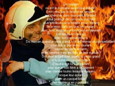 Poeme Pompier Sapeur Pompier