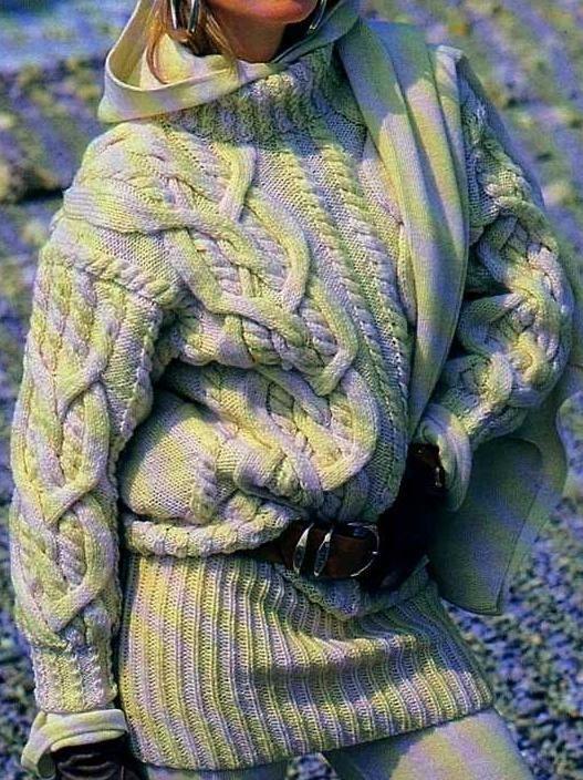 Pull Irlandais, avis des tricoteuses !