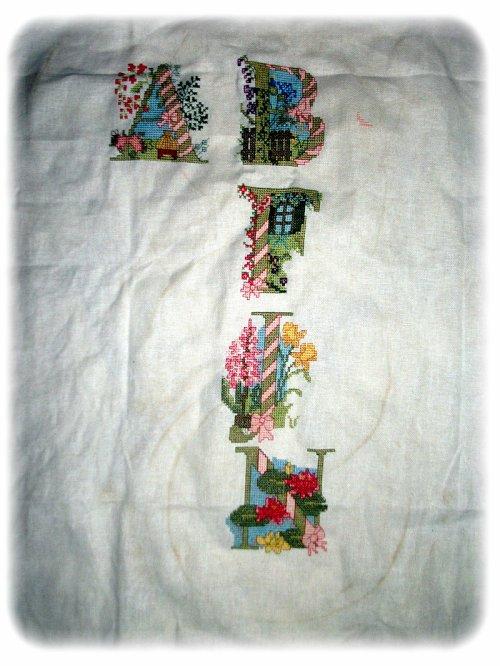 Abécédaire fleurs, vue d'ensemble, SAL Orchidée