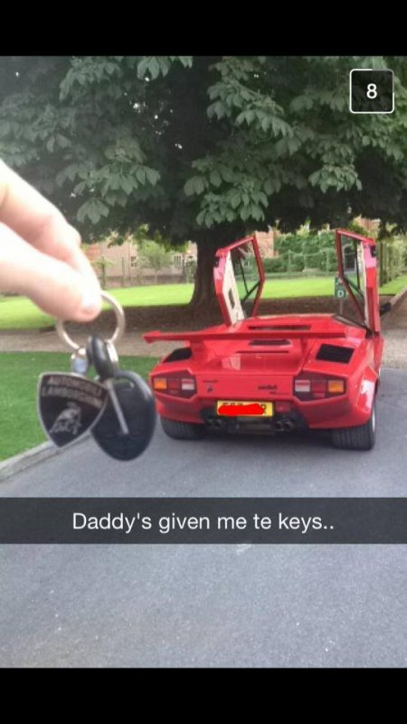 RICH KID SNAPS... Les Snaps des gosses de riche !