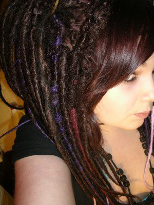 Creation de dreads synthétiques