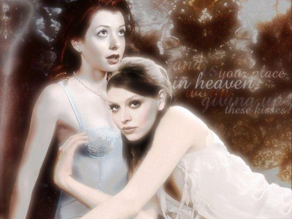Willow et Tara : Deux Sorcières Charmées L'Une Par L'Autre...
