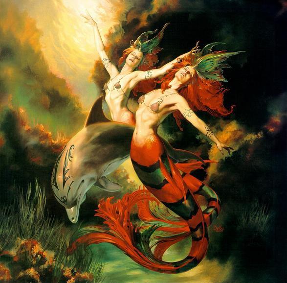 Un Ballet Aquatique Avec Des Sirènes...Originales !