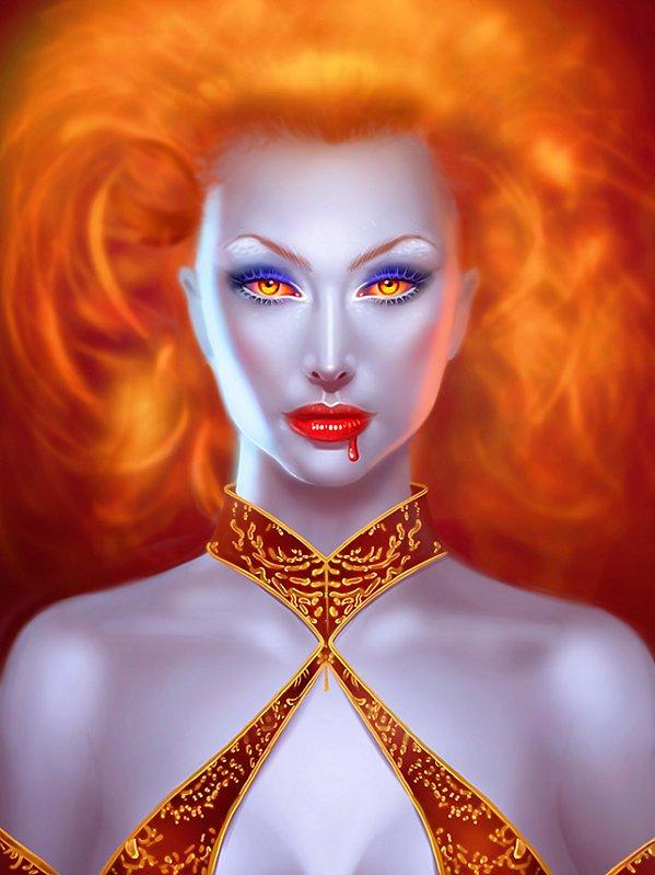 Reine des Enfers