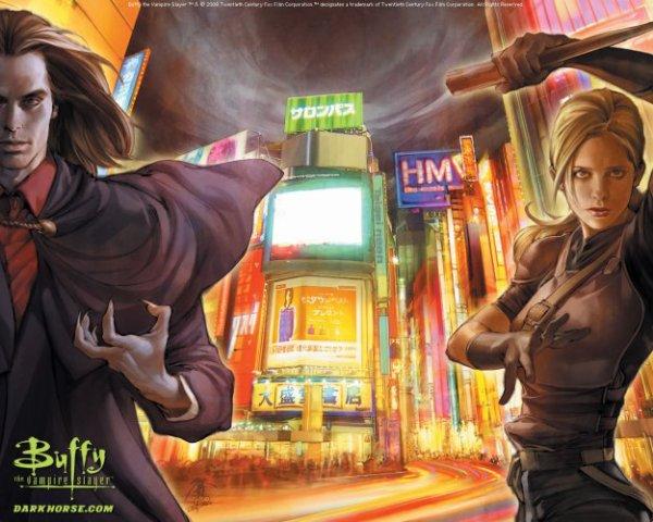 Buffy et Dracula au Japon !!!