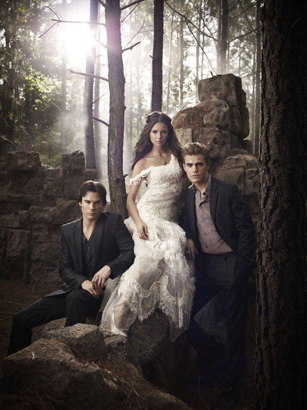 Damon, Katherine et Stefan