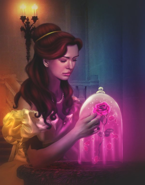 Belle et La Rose Magique