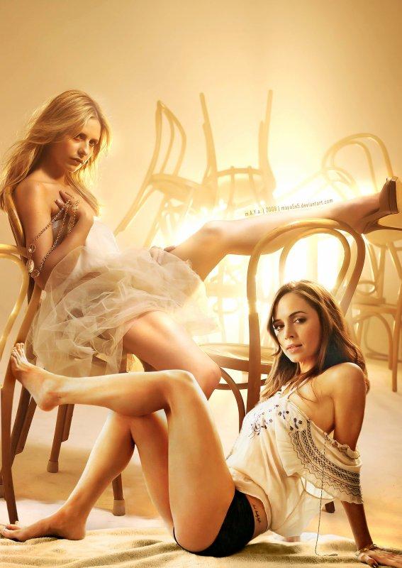 Buffy et Faith