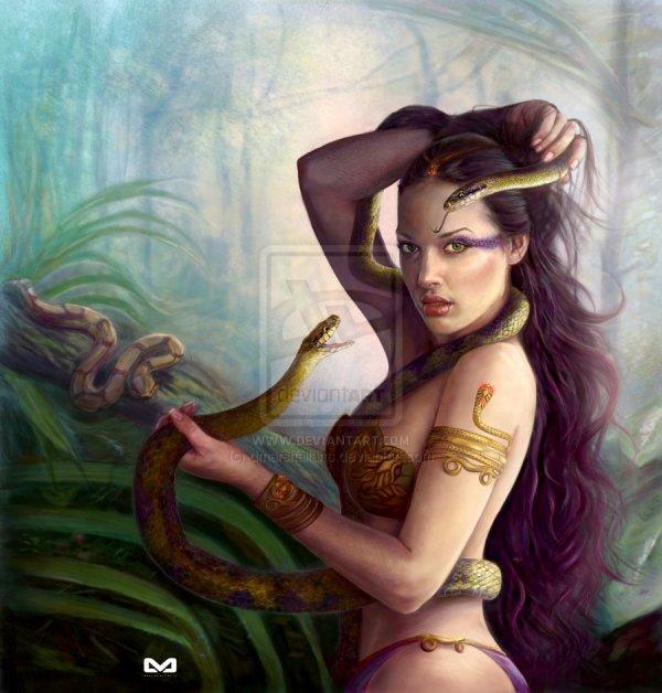 La Déesse Serpent