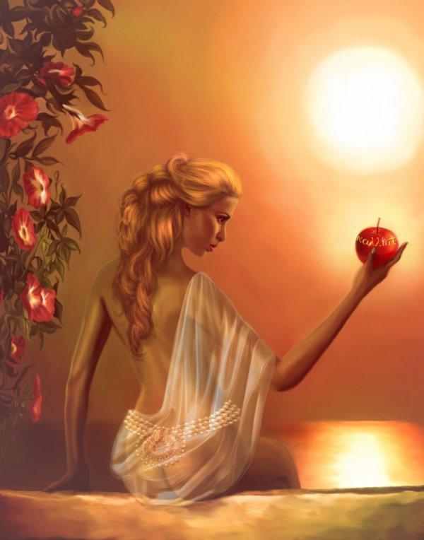 Vénus et la Pomme D'Or... qui Conduira à la Guerre d'Illion !