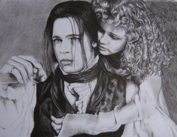 """Louis et Claudia de """"Entretien avec un Vampire"""""""