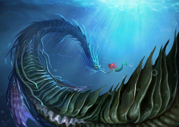 Ariel et le Léviathan