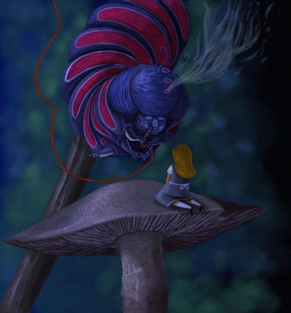 Alice et la Chenille