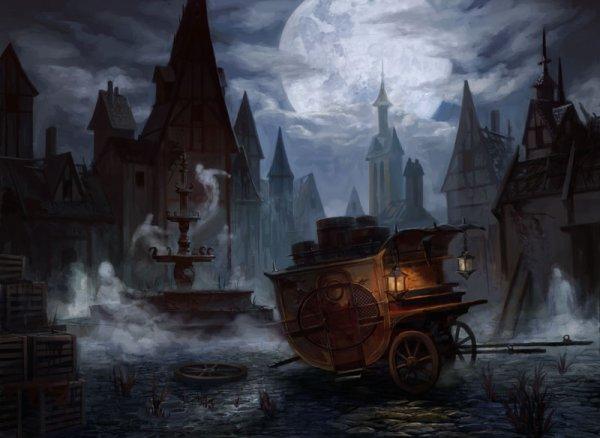 Le Temps s'est Arrêté dans la Ville Fantôme...