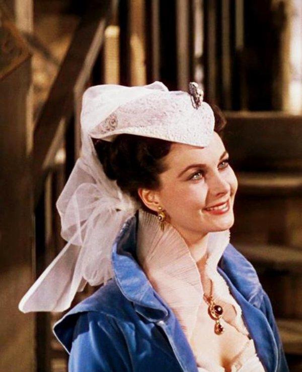 Vivien Leigh, Oscarisée pour le Rôle de Scarlett O'Hara en 1940