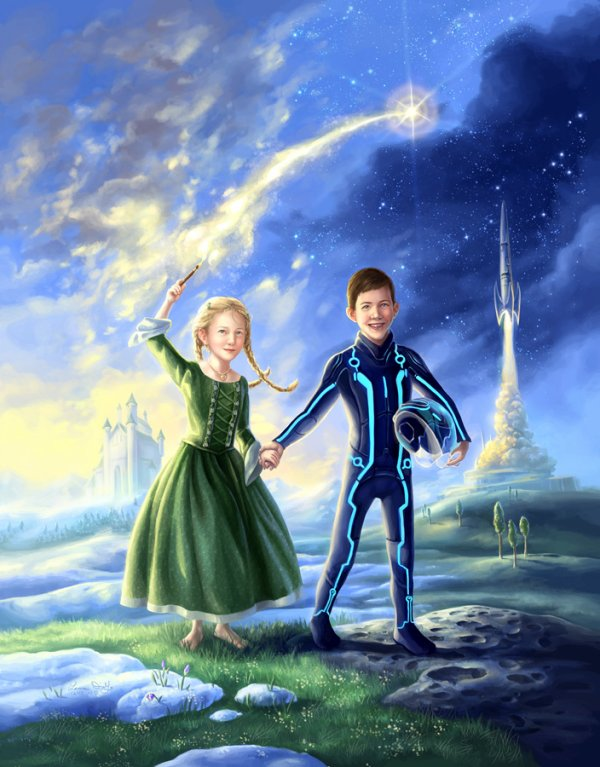 La Princesse et le Cosmonaute