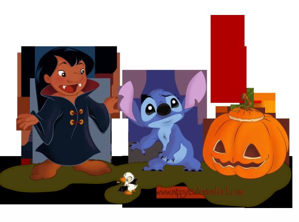 Lilo et Stitch ont Fêté Halloween