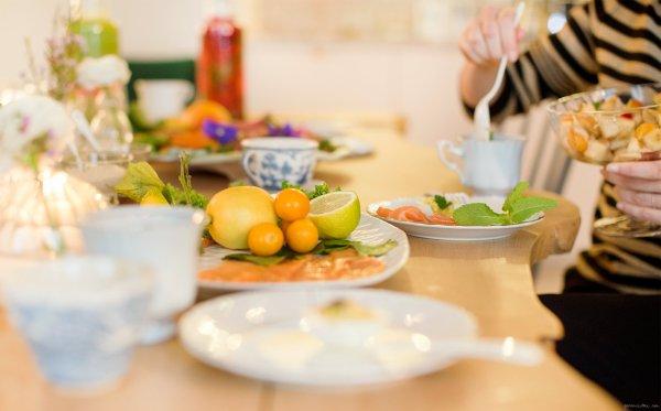 Les Joies de la Table, d'un Repas Vitaminé...surtout quand il fait Froid !