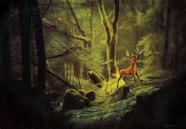 """""""Bambi"""" : Le nouveau livre de Benjamin Lacombe. Je n'avais pas l'intention de le lire - seulement de contempler les dessins - , mais après avoir écouté le podcast, j'ai changé d'avis !"""