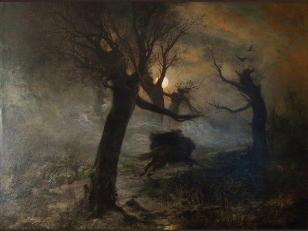 """""""Le Roi des Aulnes"""", Ballade de  Johann Wolfgang  von Goethe,  de 1872"""