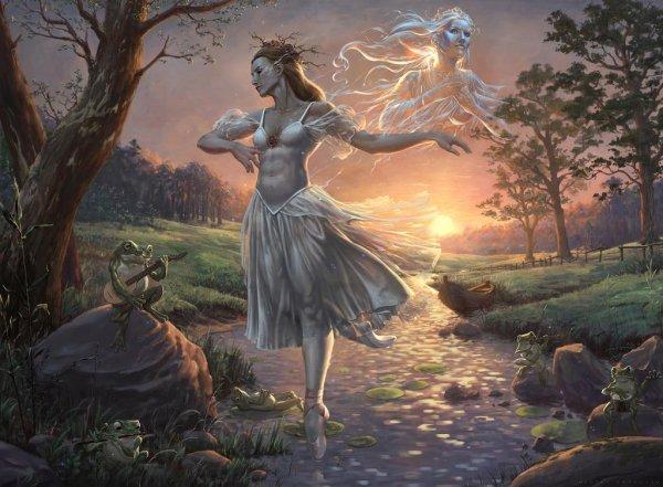 Pleines Lunes...Avant le Lever du Soleil