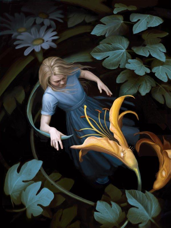 """""""Soyez ce que vous voudriez avoir l'air d'être ; ou, pour parler plus simplement : Ne vous imaginez pas être différente de ce qu'il eût pu sembler à autrui que vous fussiez ou eussiez pu être en restant identique à ce que vous fûtes sans jamais paraître autre que vous n'étiez avant d'être devenue ce que vous êtes."""" """"Alice au pays des merveilles"""", Lewis Carroll"""