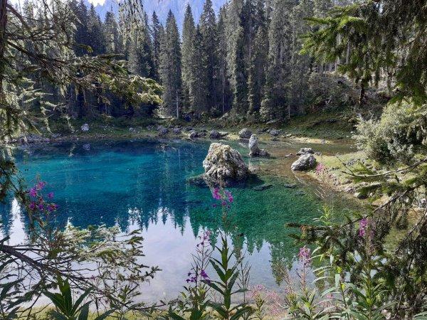 Les Dolomites, en Italie