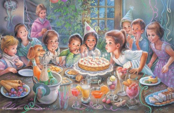 Un dimanche ensoleillé + une fête d'anniversaire !