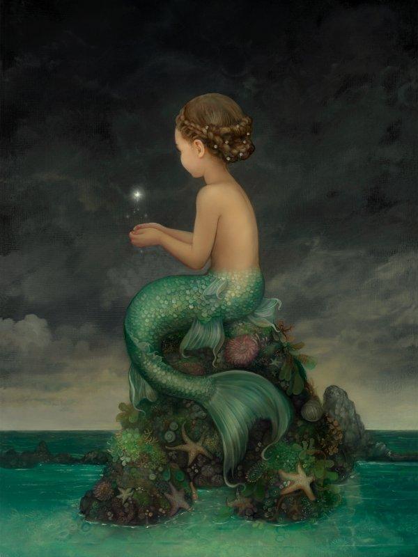 Chose Promise, Chose Due : voilà le résultat final du dernier tableau d'Annie Stegg !