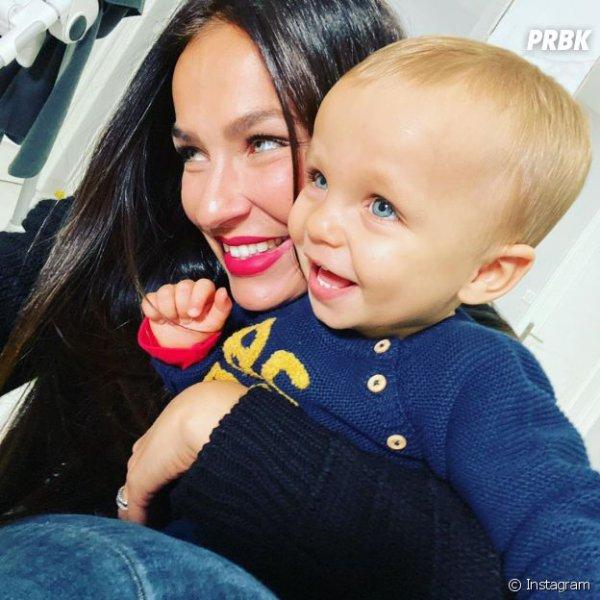 Julie Ricci et son fils Gianni