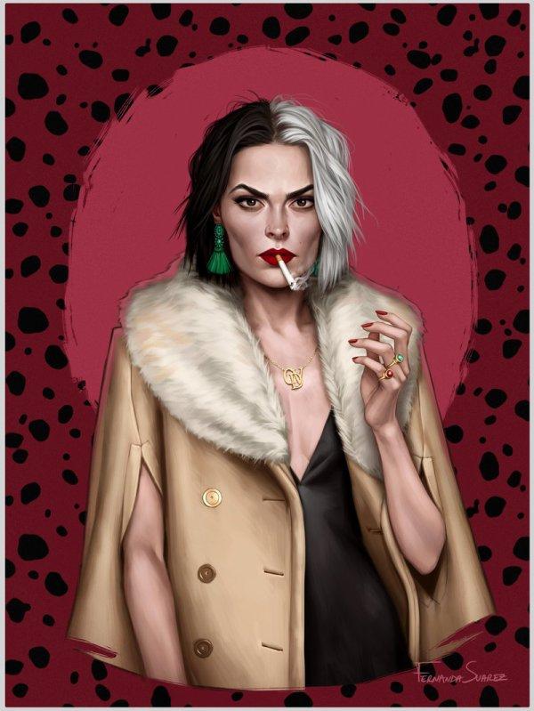 """Je suis très curieuse du film """"Cruella"""", car les critiques des spectateurs sont particulièrement enthousiastes ! L'avez-vous regardé ?"""