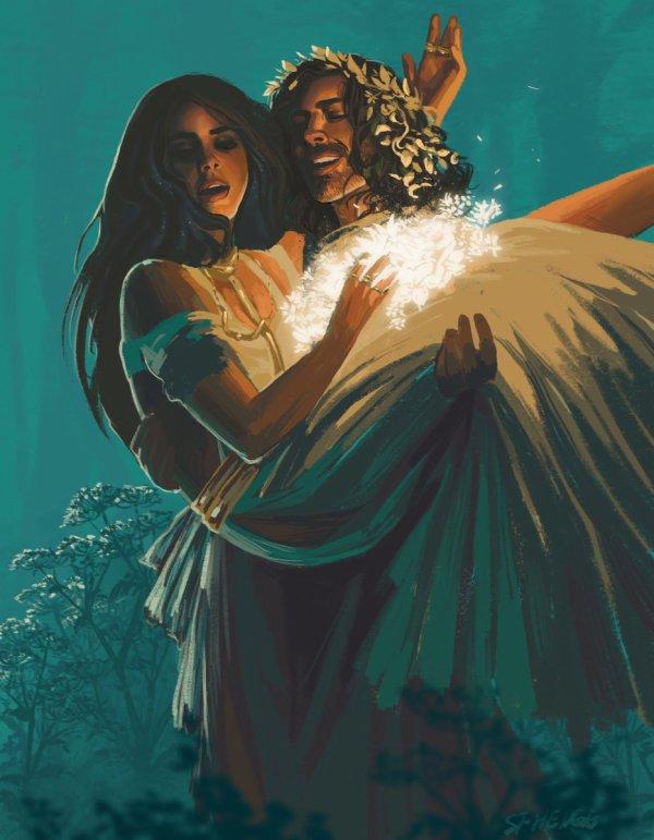 Hozier / Hadès emmène Perséphone / Lana Del Rey aux Enfers