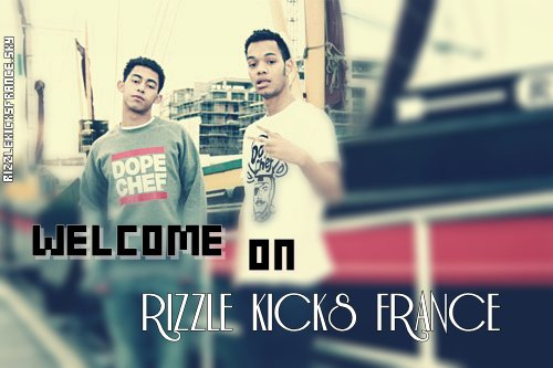 bienvenue sur Rizzle Kicks France !