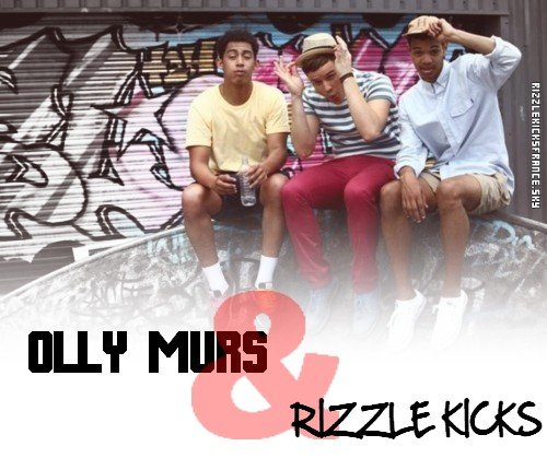 stereo typical  / heart skip the beat - Olly murs ft Rizzle Kicks  (2012)