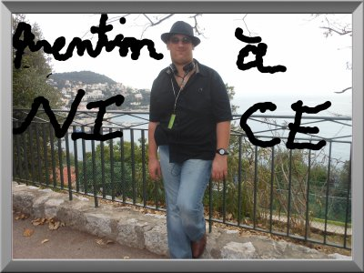 Quentin à Nice