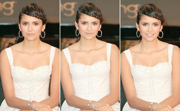 10.09.2011 | Nina a participé à la fête organisé par la CW spécialement pour la rentrée + vidéo