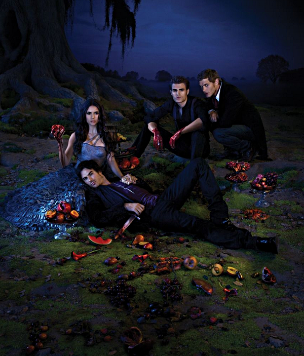 "Nouveaux posters de ""The Vampire Diaries"" saison 3 + Sneak Peek Elena/Damon."